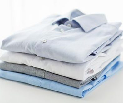 folded and pressed shirts